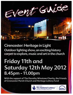 Cirencester Heritage in Light